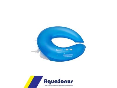 Almofada inflável para assento sanitário