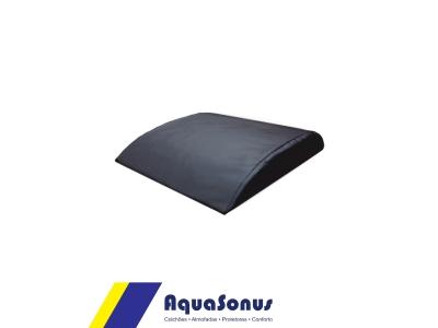 Apoio abdominal lombar ABMAT em aglomerado de espuma Ds80, revestida  em courvin cor preta