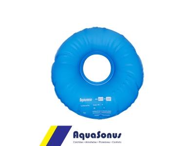 Almofada d´agua redonda com orifício