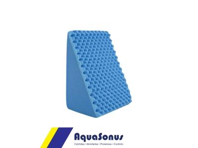 Espuma antirrefluxo triangular