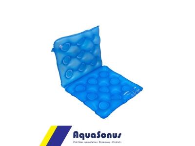 Almofada de gel quadrada c/ encosto