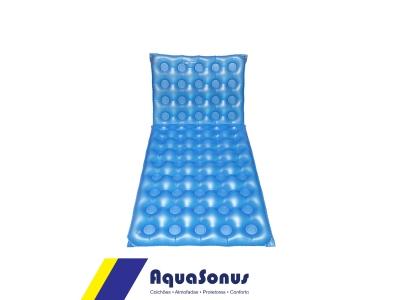 Colchão hospitalar inflável 1,90 x 0,90 articulado caixa de ovo - fechado
