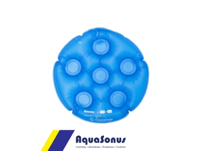 Almofada de gel redonda sem orifício