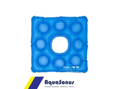 Almofada de gel quadrada com orifício